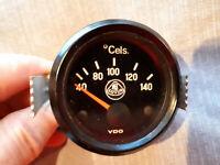52mm VDO / Lotus  Zusatzinstrument Wasser/Öltemperaturanzeige 12 V (bis 140 C°)