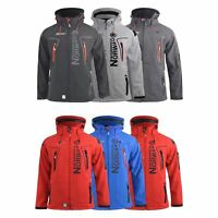 Mens Jacket Geographical Norway Softshell Techno Outdoor Sport Coat(,)