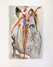 Salvador Dali 1960 DIVINE COMEDY PURGATORY 32 Color Woodcut Wood Block Engraving