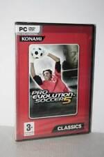 PRO EVOLUTION SOCCER 5 GIOCO NUOVO SIGILLATO PC DVD VERSIONE ITALIANA MG1 54956