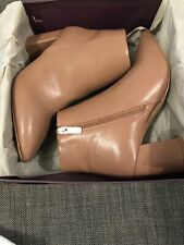 Ladies Kurt Geiger Carvela BNWT Size 6 Nude Ankle Boots