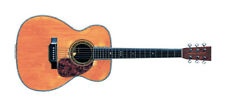 Eric Clapton's 1939 Martin 000-42 from the MTV Unplugged Greeting Card, DL Size