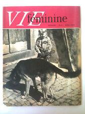 Vie Féminine n°4 du 4/1959   Le prix du pain