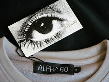 Rare NWT NEW ALPHA60 Young Stanley Kubrick Sweatshirt Shirt S A CLoCkWoRk OrAnGe