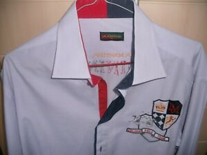 La Martina Langarm Gr.XL flieder, College Polo Team