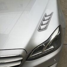 2pcs/Set 3D Shark Gills Auto Sticker Car Stickers Car Vent Air Flow Fender Decor