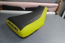 Suzuki King Quad LTF250 1987-98 Yellow Sides Logo Seat Cover #nw2813mik2812