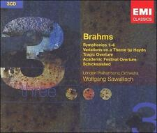 Symphonies Nos 1-4 / Academic Festival Overture, New Music