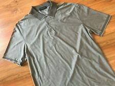 Mens AUTHENTIC Taupe ZEGNA POLO SHIRT (XXL) *L@@K*