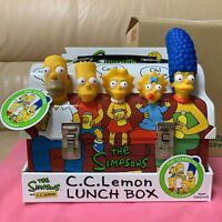 THE SIMPSONS C.C.Lemon Lunch Box Novelty Limited Excellent RARE Japan New