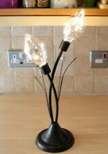 Boxed LED Battery Twin Flower Table Lamp