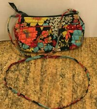Vera Bradley Mini Purse Cross Body Shoulder Purse Bag Floral Quilted Zip
