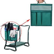 3in1 Portable Folding Garden Kneeler Foam Padded Seat Knee Pad Tool Bag @hy#