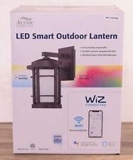 New Altair Al-2169 Led Smart Outdoor Lantern Light WiZ Connected Voice Control