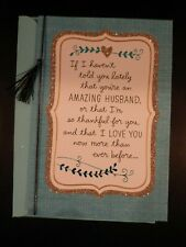 Hallmark - Happy Anniversary card for Husband - Gorgeous -have i told you lately