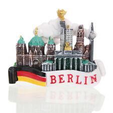 1x 3D Tourist Travel Souvenir Fridge Magnet Berlin Germany Flag and Castle
