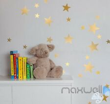 147 Pcs 3 Size Stars Removable Wall Sticker Kids nursery Room Decor Art  Decal