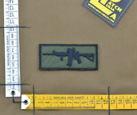 """Ricamata / Embroidered Patch """"M4 - Rifleman"""" OD with VELCRO® brand hook"""