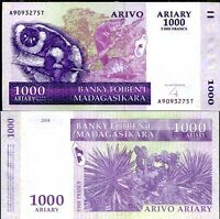 Combine FREE 87 Madagascar 200 Ariary P 87b 2004 UNC Low Shipping