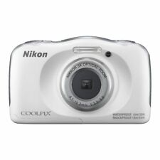 Nikon VQA010AA Coolpix W100 White Digital Camera
