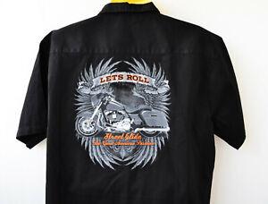 Harley Street Glide  Workershirt 3XL Arbeits Hemd  Biker Hemd