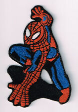 SPIDERMAN EMBROIDERED IRON ON PATCH marvel comics vintage cartoons super heroes