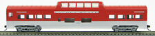 """HO 72 Ft Pass. Mid-Train Dome Car, RTR SoPac/ Rock Island """"Golden State""""(1-940T)"""