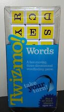 Twizmo! Words word finding letter cube cards game NIB make words family fun