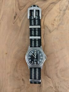 CWC G10 Military watch - W10- Royal Army issue 2006 - Last year! Rare