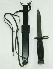 Vintage Vietnam Milpar M7 Fighting Knife & M10 Scabbard