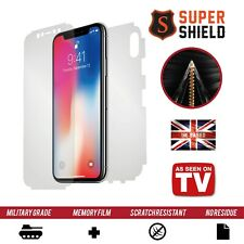 Apple iPhone X SCREEN PROTECTOR FRONT BACK SIDES CURVED FULL BODY SHIELD FILM