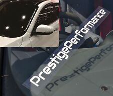 Prestige Performance Car Windshield Rear Window Reflective Sticker Decal 48cm