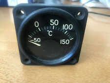 New listing Vintage Aircraft Engine Temperature Gage