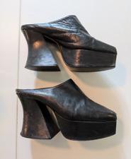 Vintage 90s Luichiny Platform Mules
