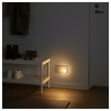 2 x IKEA MÖRKRÄDD (Morkradd) Plug-In LED NightLights with Sensors