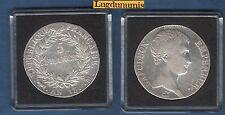 Premier Empire - 5 Francs Napoléon Empereur AN 13 M Toulouse TB TTB