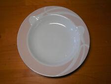 "Mikasa Fine China CLASSIC FLAIR PEACH LDB01 Uglow Set of 3 Rimmed Soup Bowls 9"""
