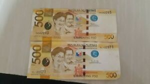 Error bills, philippine peso