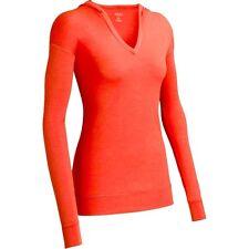 Icebreaker Vista Azelea 200g Womens XL Merino Wool Hoodie Tunic Top Nwt $120