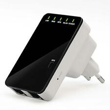 Wireless-N Mini Router Repeater Booster WIFI Range IEEE 802.11 b/g/n 300Mbps FT