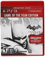 NEW - Batman: Arkham City - Game of the Year Edition (Restricted distribution)
