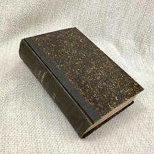 1896 Antique Livre les Trois Mousquetaires Alexandre Dumas Français Vieux Copie
