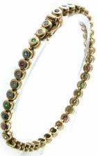 Echte Diamanten-Armbänder aus Gelbgold Saphir