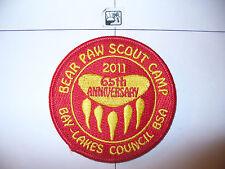 2011 Camp Bear Paw,Bay Lakes Council,pp,OA 61 Awase,156,194,501,635,Wisconsin,WI