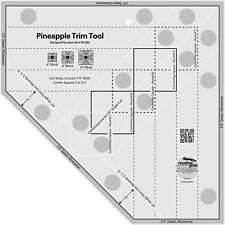 Creative Grids Pineapple Trim Tool Sewing and Quilting Ruler