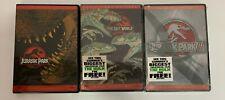 Jurassic Park 3 DVD Lot Lost World III Full Screen Collectors 2 Sealed
