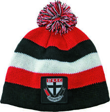 65170 ST KILDA SAINTS AFL FOOTBALL KIDS BABY BEANIE