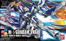 New Bandai HGBF 1/144 Hi-v GUNDAM VRABE ( Build Fighters Try ) Plastic Model Kit