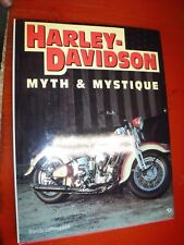 Harley-Davidson : Myth and Mystique by Randy Leffingwell (1995, Hardcover)