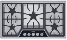 "Thermador Sgsl365Ks Masterpiece Series 36"" Gas Cooktop 5 Sealed Star Burners"